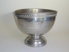 Vintage Silver Champagne Bucket Detail