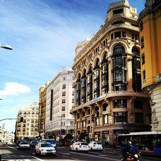 Gran Vía: Madrid, Spain