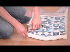Chair DIY / DIY chaise / comment restaurer une vieille chaise - Blog mode Lyon & DIY | Artlex
