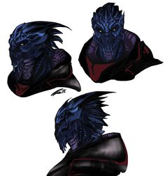Schrödinger's Cat Is (colored some of my aliens) Mass Effect Races, Mass Effect 1, Mass Effect Characters, Sci Fi Characters, Boy Character, Fantasy Character Design, Mass Effect Garrus, Sara Ryder, Wolf Warriors