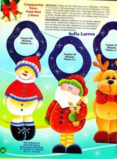 revistas de manualidades gratis Christmas 2016, Christmas Crafts, Xmas, Christmas Ornaments, Pintura Country, Reno, Pattern Books, Book Crafts, Holiday Decor