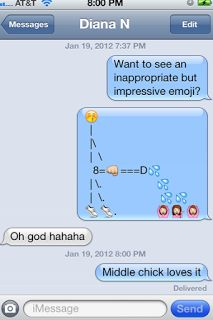 Romantic emoji messages