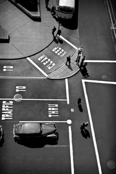 Fred Lyon, Powell, Union Square, San Francisco, 1947