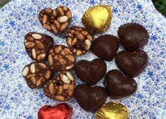Chocolate Rocky Road Hearts