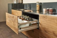 The warm of natural wood #lagodesign #interiordesign #kitchen #wildwood