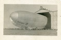 Pictures: Remembering the tragic crash of the Langley airship Roma. - Mark St. John Erickson