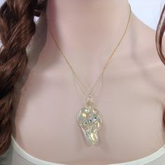 Earth Angel Wing necklace