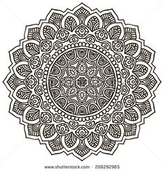 Set Of Ornamental Indian Elements And Symbols Stock Vector 159081248 : Shutterstock
