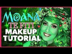 Disney's Moana Te Fiti (Makeup Tutorial) - Part 2 Te Fiti Costume, Mom Costumes, Adult Costumes, Costume Ideas, Disneyland Halloween Costumes, Halloween 2017, Halloween Party, Goddess Makeup, Diy Adult