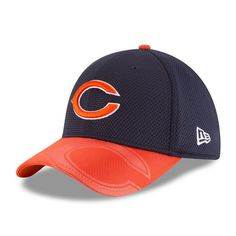 9fbd481c9dc Chicago Bears New Era Official 2016 Sideline 39THIRTY Flex Fit Hat