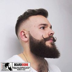 #BeardOfTheDay For Tuesday 1st May 2018 is this #beard and #handlebarmoustache photo sent in by #BeardCode's Instagram follower @ethanbaddeley! #beards #bearded #moustache #mustache #stache #barber #barberlife #beardlife