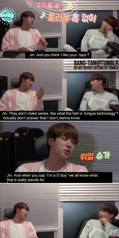 Jin knows what is going on XD