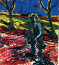 Francis Bacon 'Study Portrait for Van Gogh III'