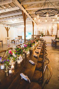 Gorgeous #farmwedding   A rustic, elegant handmade Virginia farm wedding at Fat Cat Farm   Images: Porter Watkins Photography