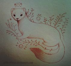 ferret tattoos | Ferret Animal Totem