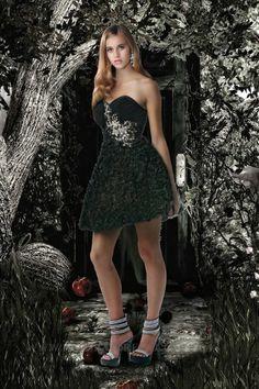 Sweetheart Short Appliques Taffeta A Line Homecoming Dress 11010516 - Homecoming Dresses - Special Occasion Dresses