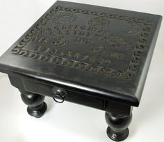 """Spirit Board Altar Table with Drawer 12"""""""