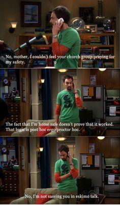Big Bang Theory sassing in Eskimo talk haha Big Bang Theory Quotes, The Big Theory, Big Bang Theory Funny, Tv Quotes, Movie Quotes, Funny Quotes, The Bigbang Theory, Funny Scenes, Fandoms