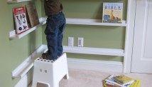 Estantes para quarto de crianças - 8 ideias