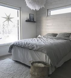 Nordic Home & Interior ( Bedroom Lighting, Interior Lighting, Home Lighting, Scandinavian Lighting, Scandinavian Style, Inside A House, Traditional Lamps, Nordic Home, Log Homes