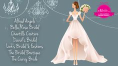 Looking for that perfect goal? Don't miss these Bridal salons at the Oklahoma Bridal Show 1.29.17! www.okBride.com Goal, Oklahoma, Bridal Salon, Cinderella, Disney Princess, Disney Characters, Salons, Wedding Dresses, Fashion