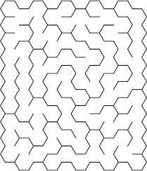 This PDF file includes 10 intermediate mazes in several