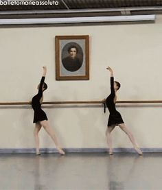 GIF Ksenia Zhiganshina (left) and a classmate from the Vaganova Ballet Academy Ksenia Zhiganshina and Anastasia Lukina. Dance Photo Shoot, Dance Photos, Dance Pictures, Ballet Gif, Ballet Dancers, Ballerinas, Ballet Class, Ballet School, Vaganova Ballet Academy