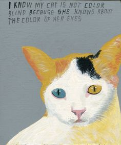 Outsider Art, Goodbye Kitty, Illustrations, Illustration Art, Japanese Bobtail, Devon Rex, Art Brut, Scottish Fold, Beautiful Cats