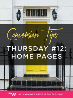 Homepages that convert pull the right people in and tell them where to go next. Let's improve your Homepage with real-world examples to get you more leads!
