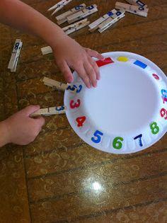 can ve cerenin oyun günlüğü: Mandallarla sayı eşleştirme