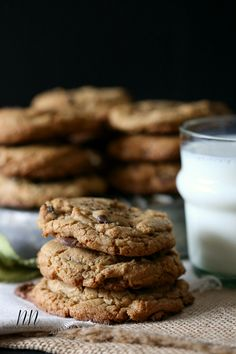 Espresso Salted Chocolate Chip Cookies