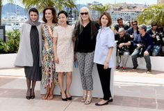 Leila Hatami - Iranian actress and member of the Feature films Jury Leila Hatami poses during a photocall at the 67th edition of the Cannes Film Festival in Cannes.on May 14, 2014 in Cannes, France.