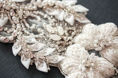 Bridal Sash   Paris Romance 17 inches Made to by EnrichbyMillie, $298.00