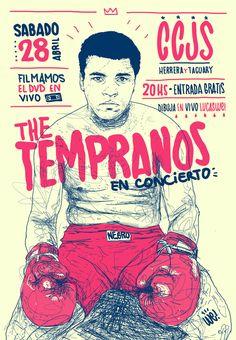 The Tempranos by Lucas We, via Behance
