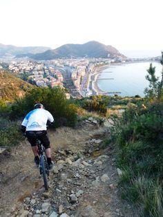 Riding in Sestri Levante