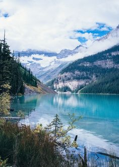 Lake Louise in Banff by @mattliefanderson