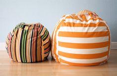 Big, round floor cushions.