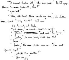 Image Result For Dr Seuss Handwriting Samples
