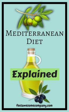 Mediterranean Diet Explained (A Helpful Guide for Good Health in The Mediterranean diet was found out to have a low risk with regard to various killer diseases such as cancer. Various studies have been able to show and prove that the Mediterranean di Meal Plan For Weightloss, Before And After Weightloss, Health Blog, Gut Health, Mental Health, Full Body Detox, Natural Detox Drinks, Extreme Diet, Fat Burning Detox Drinks