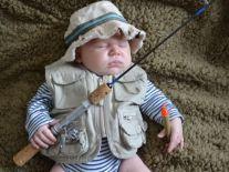 LL Bean Baby Fisherman.