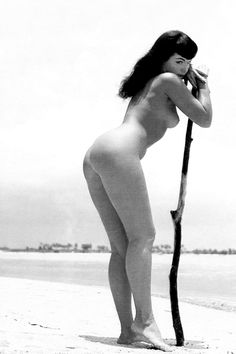 Bettie Page photographed by Bunny Yeager, 1954