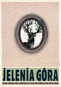 Ryszard Kaja - Jelenia Góra, polski plakat turystyczny