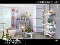 SIMcredible!'s Christmas Clutter 2012
