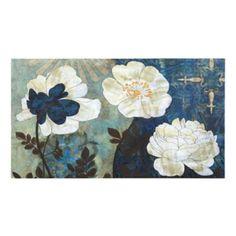 Bountiful Blue Garden Canvas Art Print   Kirklands