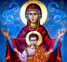 Let's celebrate all of the birth mothers who have made the courageous decision to choose life and to place their child for adoption! Mother's Day is on Sunday, May 2018 Religious Images, Religious Icons, Religious Art, Byzantine Icons, Byzantine Art, Catholic Art, Catholic Saints, Hail Holy Queen, Mama Mary