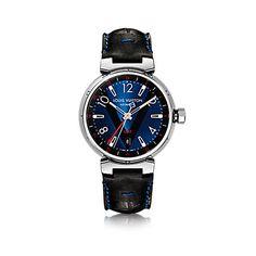 Louis Vuitton Tabour Blue GMT