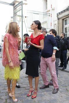 Anna Dello Russo & Giovanna Battaglia