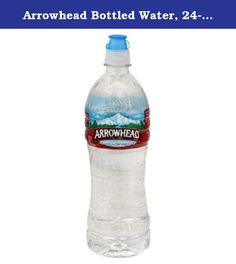 Arrowhead Bottled Water, 24-Ounce Sport Cap Bottles (Pack of 28). A light blend of minerals contributes to the legendary great taste of our water. We've broken down a sample mineral content below. All values provided in milligrams or liter unless indicated otherwise. Every bottle of our mountain spring water contains a production date code, so our customers can see for themselves that they're drinking fresh and great tasting bottled water. High on the South slope of California's San...