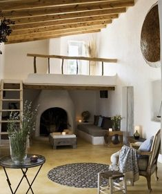 I would fill the loft with books. And maybe a comfy chair