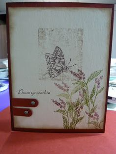 Passion scrapbooking: Nature walk Stampin Up set